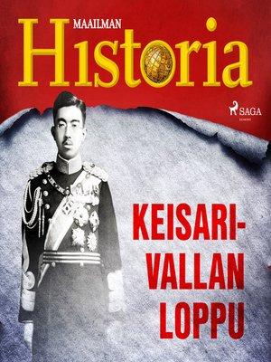 cover image of Keisarivallan loppu