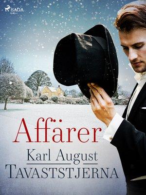 cover image of Affärer