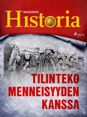 cover image of Tilinteko menneisyyden kanssa