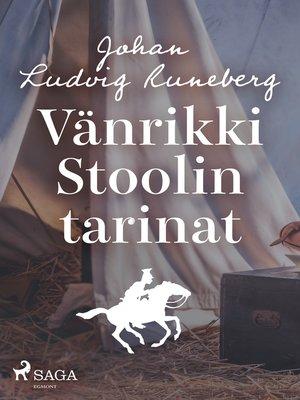 cover image of Vänrikki Stoolin tarinat