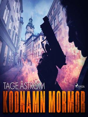 cover image of Kodnamn Mormor