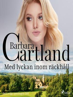 cover image of Med lyckan inom räckhåll