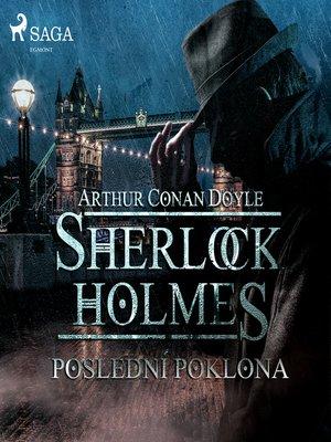 cover image of Poslední poklona
