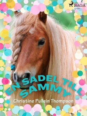 cover image of En sadel till Sammy