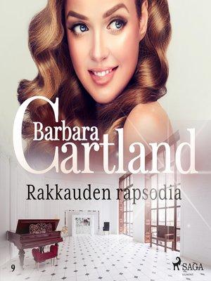 cover image of Rakkauden rapsodia