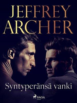 cover image of Syntyperänsä vanki