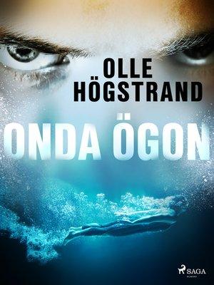 cover image of Onda ögon