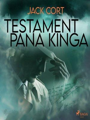 cover image of Testament pana Kinga