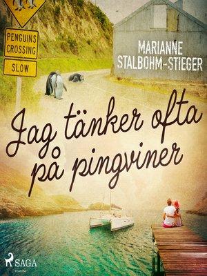 cover image of Jag tänker ofta på pingviner