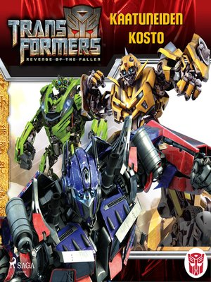 cover image of Transformers--Kaatuneiden kosto