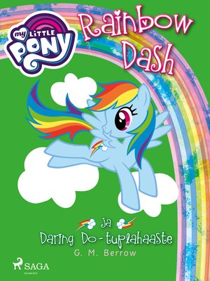 cover image of My Little Pony--Rainbow Dash ja Daring Do--tuplahaaste