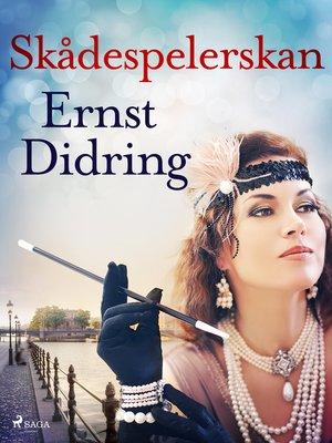 cover image of Skådespelerskan
