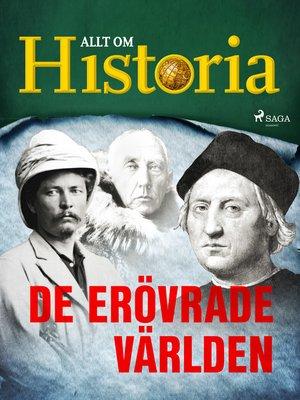 cover image of De erövrade världen