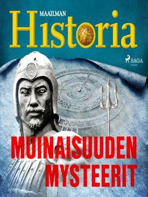 cover image of Muinaisuuden mysteerit