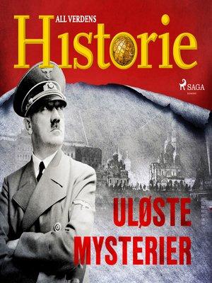cover image of Uløste mysterier