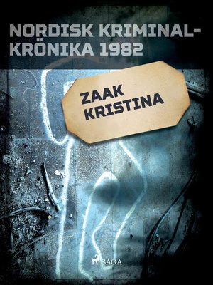 cover image of Zaak Kristina