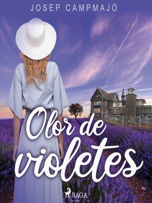 cover image of Olor de violetes