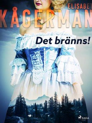 cover image of Det bränns!