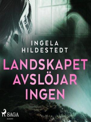 cover image of Landskapet avslöjar ingen