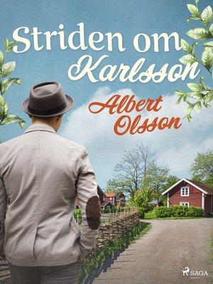 cover image of Striden om Karlsson