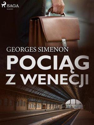 cover image of Pociąg z Wenecji