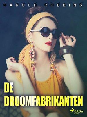 cover image of De droomfabrikanten