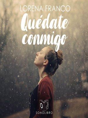 cover image of Quédate conmigo