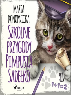 cover image of Szkolne przygody Pimpusia Sadełko