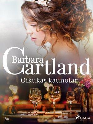 cover image of Oikukas kaunotar