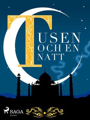 cover image of Tusen och en natt