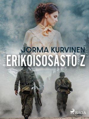 cover image of Erikoisosasto Z