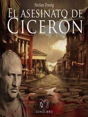 cover image of El asesinato de Cicerón--Dramatizado