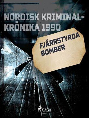 cover image of Fjärrstyrda bomber