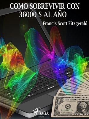 cover image of Como sobrevivir con 36.000 USD al año
