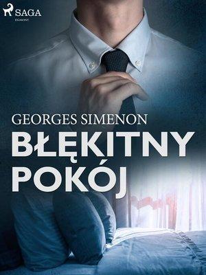 cover image of Błękitny pokój