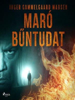 cover image of Maró bűntudat