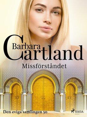 cover image of Missförståndet