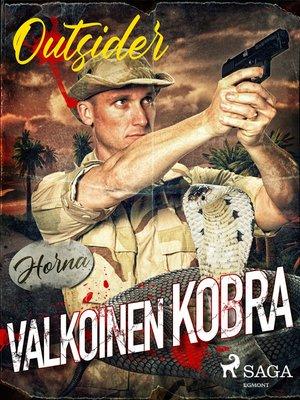 cover image of Valkoinen kobra