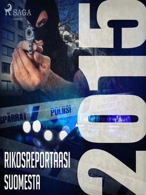 cover image of Rikosreportaasi Suomesta 2015