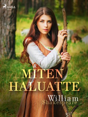 cover image of Miten haluatte
