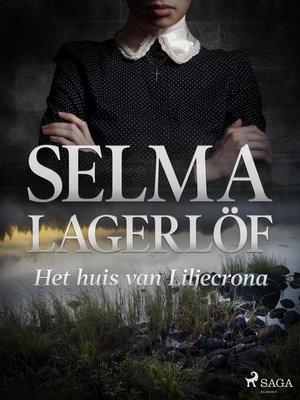 cover image of Het huis van Liljecrona