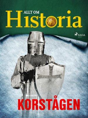 cover image of Korstågen