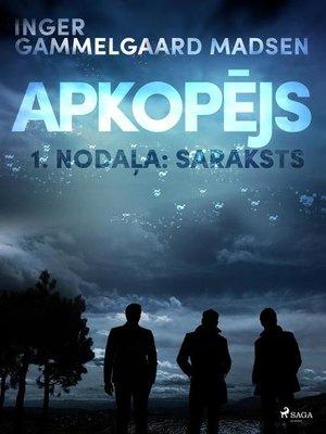 """cover image of Apkopējs, 1. nodaļa """"Saraksts"""""""