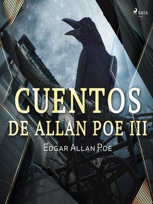 cover image of Cuentos de Allan Poe III