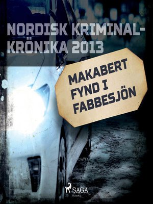 cover image of Makabert fynd i Fabbesjön