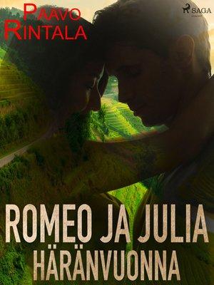 cover image of Romeo ja Julia häränvuonna