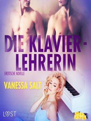 cover image of Die Klavierlehrerin