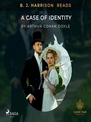 cover image of B. J. Harrison Reads a Case of Identity