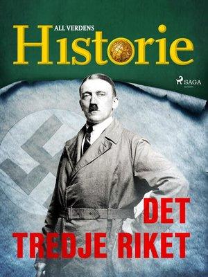 cover image of Det tredje riket