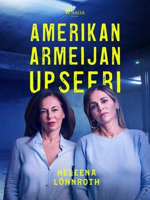 cover image of Amerikan armeijan upseeri